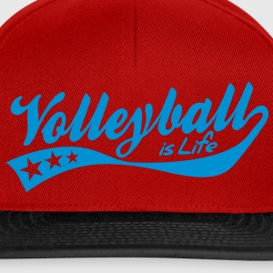 volleyball is life - retro Chaquetas y chalecos - Gorra Snapback
