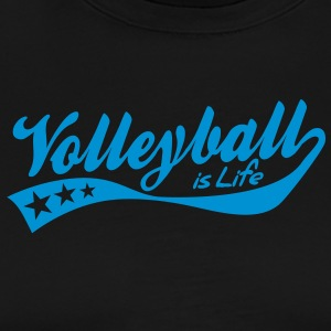 volleyball is life - retro  Aprons - Men's Premium T-Shirt