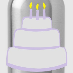 Birthday Cake T-Shirts - Water Bottle