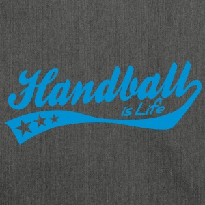 handball is life - retro Hoodies & Sweatshirts - Shoulder Bag made from recycled material