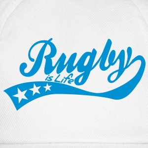 rugby is life - retro Pullover - Baseballkappe