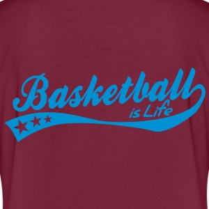basketball is life - retro Polo - Maglietta ampia da donna