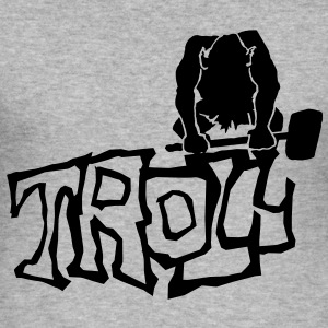 Troll - Men's Slim Fit T-Shirt