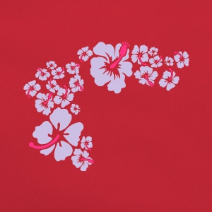 hawaii flower T-Shirts - Retro Tasche