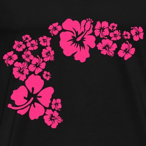 hawaii flower Pullover - Männer Premium T-Shirt