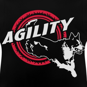 Nr.361 Border Collie Agility Kinder Pullover - Baby T-Shirt