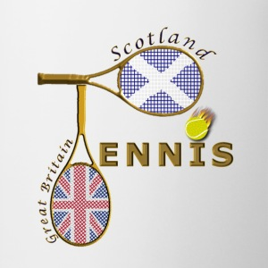 great britain scotland tennis Kids' Shirts - Mug