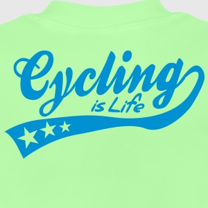 cycing is life - retro Kinder sweaters - Baby T-shirt