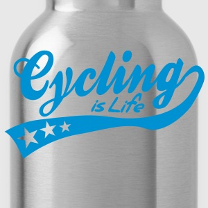 cycing is life - retro Felpe - Borraccia