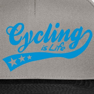 cycing is life - retro Byxor och shorts - Snapbackkeps