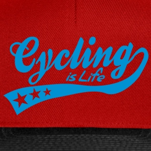 cycing is life - retro Poloshirts - Snapback cap