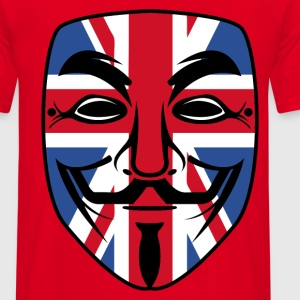 english mask Sweat-shirts - T-shirt Homme