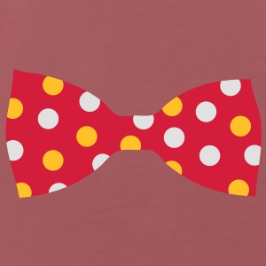 A bow tie with dots Bags  - Men's Premium T-Shirt