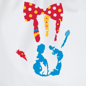 A bow tie with dots Kids' Shirts - Drawstring Bag
