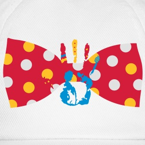 A bow tie with dots Kids' Shirts - Baseball Cap