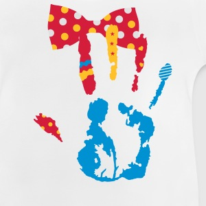 A bow tie with dots Kids' Shirts - Baby T-Shirt