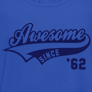 Awesome SINCE 1962 - Birthday Anniversaire T-Shirt WN - Women's Tank Top by Bella