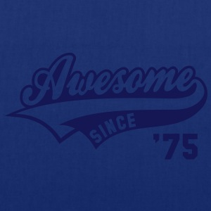 Awesome SINCE 1975 - Birthday Geburtstag Anniversaire T-Shirt WN - Mulepose