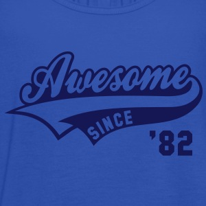 Awesome SINCE 1982 - Birthday Anniversaire T-Shirt WN - Women's Tank Top by Bella