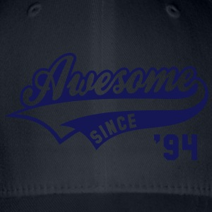 Awesome SINCE 1994 - Birthday Anniversaire T-Shirt WN - Flexfit Baseball Cap