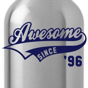 Awesome SINCE 1996 - Birthday Geburtstag Anniversaire T-Shirt WN - Drikkeflaske
