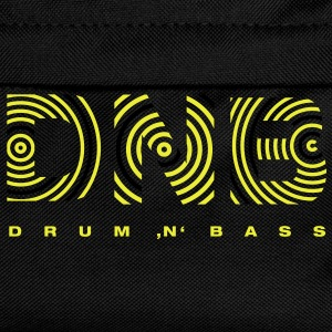 Drum 'n' Bass circle 2 T-Shirts - Kinder Rucksack