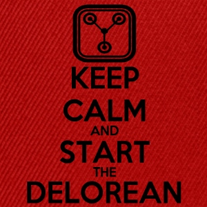 Keep Calm and start the Delorean T-Shirts - Snapback Cap