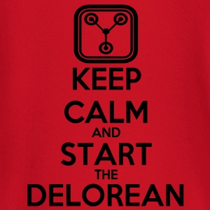 Keep Calm and start the Delorean Pullover - Baby Langarmshirt