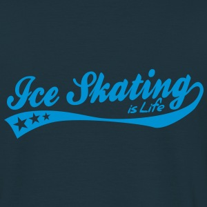ice skating is life - retro Hoodies & Sweatshirts - Men's T-Shirt