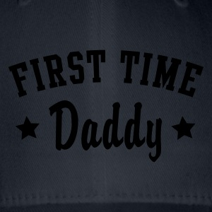 FIRST TIME Daddy T-Shirt - Cappello con visiera Flexfit