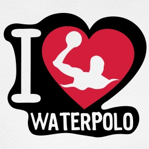 i love waterpolo5 coeur heart Tee shirts - Casquette classique