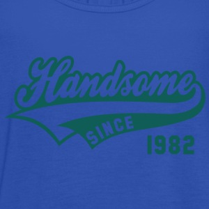 Handsome SINCE 1982 - Birthday T-Shirt HN - Women's Tank Top by Bella