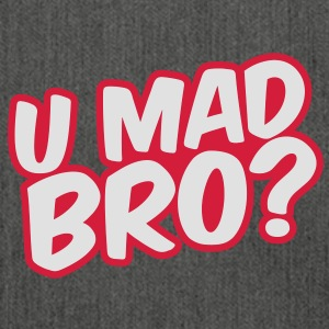 U Mad Bro? Pullover - Schultertasche aus Recycling-Material