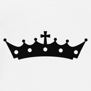 Crown with Cross Sacs - T-shirt Premium Homme