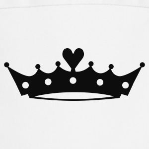 Crown with Heart Baby Bodysuits - Cooking Apron
