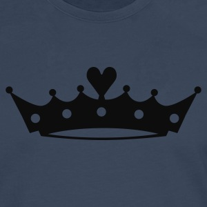 Crown with Heart Baby Bodysuits - Men's Premium Longsleeve Shirt