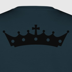 Crown with Cross Sudadera - Camiseta hombre