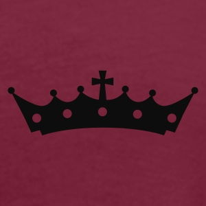 Crown with Cross Poloshirts - Vrouwen oversize T-shirt