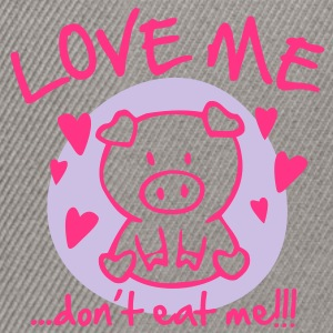 Love me, don't eat me Hoodies & Sweatshirts - Snapback Cap