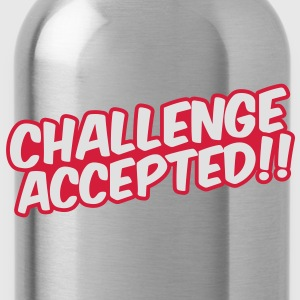 Challenge Accepted Tee shirts - Gourde