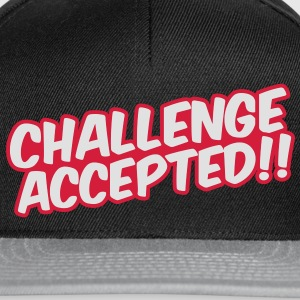 Challenge Accepted T-shirts - Snapback Cap