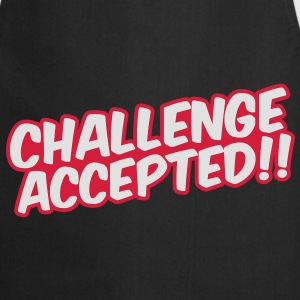 Challenge Accepted T-shirts - Keukenschort