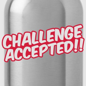 Challenge Accepted Camisetas - Cantimplora