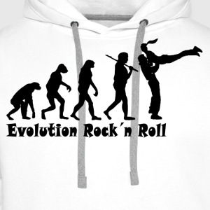 Rock´n Roll Evolution - Männer Premium Hoodie