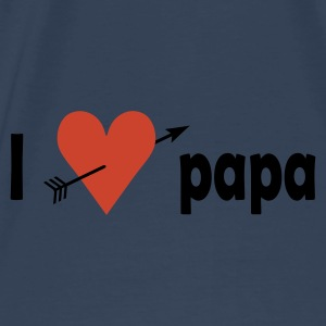 I love papa Bags  - Men's Premium T-Shirt