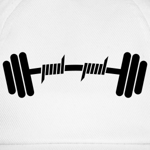Fitness | Body Building | Hantel | Dumbbell - Cappello con visiera