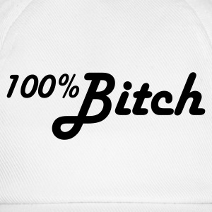 100% Bitch Kinder shirts - Baseballcap