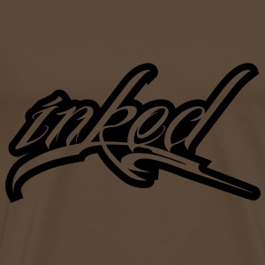 inked - tattoo Bags  - Men's Premium T-Shirt