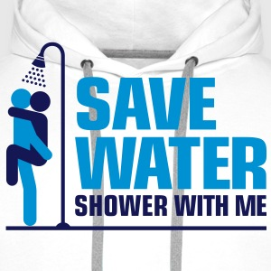 Save Water 2 (2c)++ T-skjorter - Premium hettegenser for menn