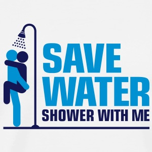 Save Water 2 (2c)++ Forklær - Premium T-skjorte for menn